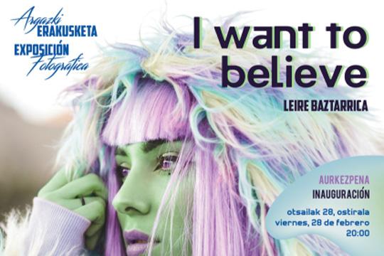 """Haziak proiektuaren bigarren atala: """"I want to believe"""""""