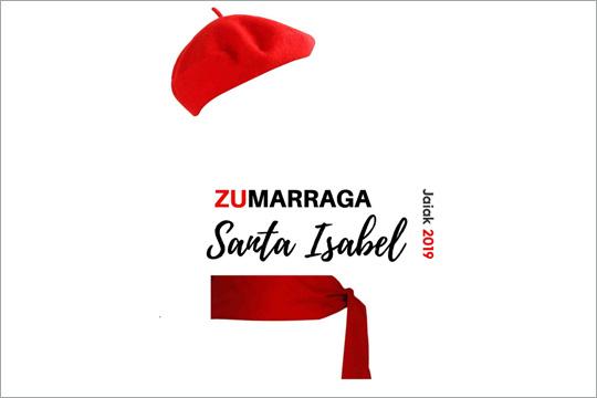 Zumarragako 2020ko Santa Isabel jaietako egitarauaren azala aukeratzeko lehiaketa
