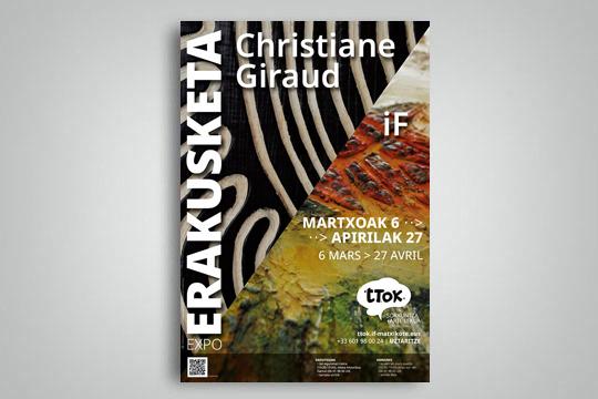 (ITXITA) Christiane Giraud eta iF artisten lanen erakusketa
