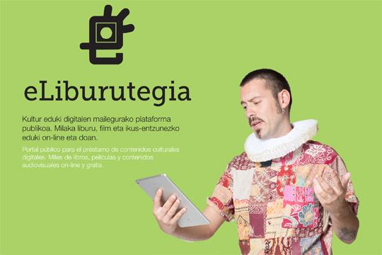 eLiburutegia, kultur eduki digitalen mailegurako plataforma
