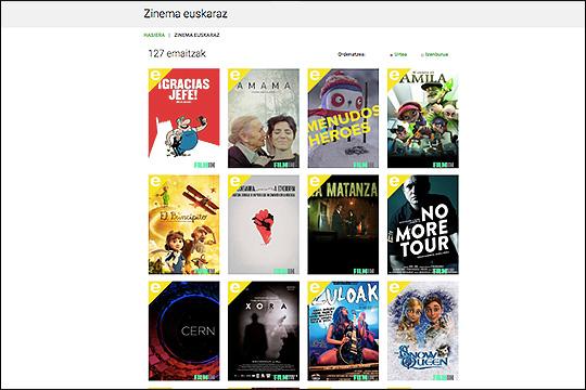 """Zinema euskaraz"": filmak online eta euskaraz"