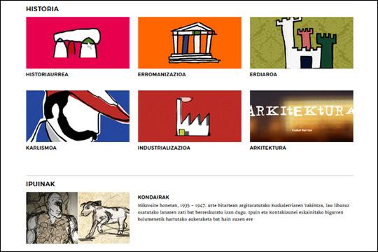 Eusko Ikaskuntzak ekoiztutako baliabide pedagogikoak