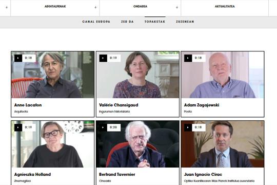 Gipuzkoako Foru Aldundiaren kultura-edukien eskaintza, Gipuzkoa Kultura plataforman