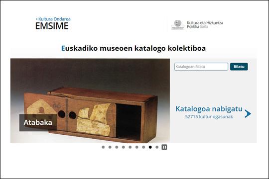 Euskadiko museoen katalogo kolektiboa