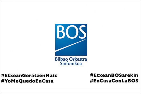 #EtxeanBOSarekin: Bilbao Orkestra Sinfonikoaren bideoak