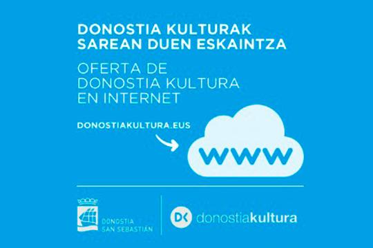 DKEtxean: Donostia Kulturak sortutako eduki digitalak