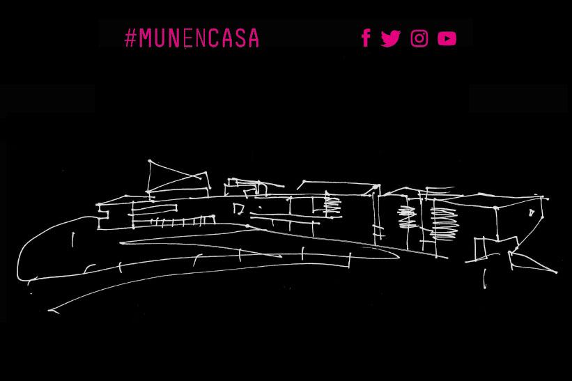 """""""#MUNencasa: Artea eta kultura etxean astebururako"""""""