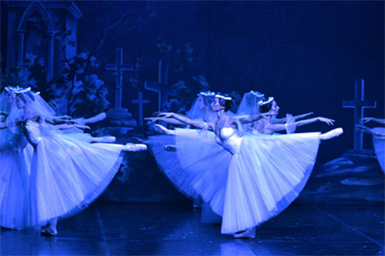 "Russian Classical Ballet: ""GISELLE"""
