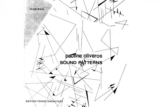"""SCALA: Sound Patterns (Pauline Oliveros)"""