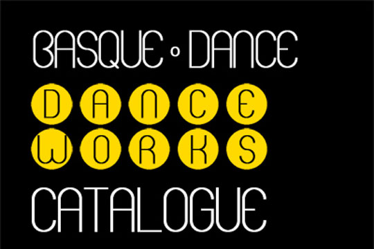 Basque Dance Works Catalogue. 9ª edición