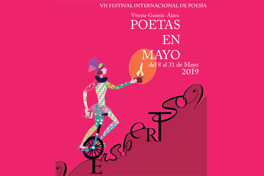 Poetas en Mayo 2019 - Festival de Poesía de Vitoria