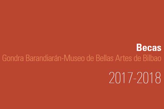 Becas gondra barandiar n museo de bellas artes de bilbao convocatoria 2017 2018 - Becas de comedor 2017 ...